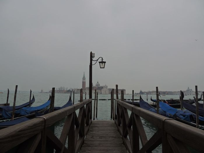 Boardwalk Calm Clear Sky Day Diminishing Perspective Jetty Long Narrow Nautical Vessel Ocean Outdoors Pier Railing Sea Seascape Sky The Way Forward Tranquil Scene Tranquility Water Wood Paneling