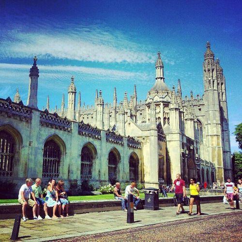 Cambridge Kingscollege Building