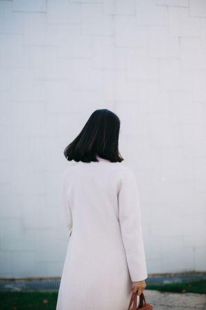 Leaving Back Leaving Walking Minimalism Pinkcoat Shorthair Quiet Moments
