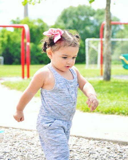 Summer Life Running Kids Park Baby Females