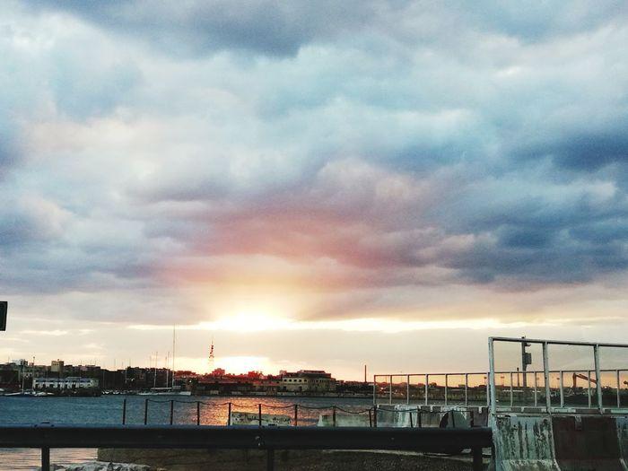 City Cityscape Water Sea Sunset Beach Sky