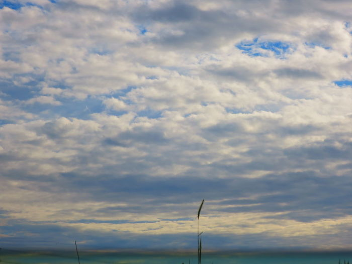 雲間に透ける青軽し Canon S120 Cloudy