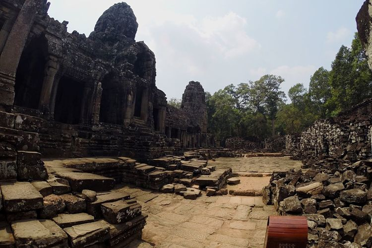 Cambodia Angkor Thom Bayon Temple Old Ruin Place Of Worship Travel Destinations Tourism Famous Place Ancient Civilization Eyemphotography