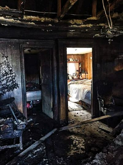 Close your doors at night. Even the cheaper hollow doors can keep out heat and smoke giving you the extra time you may need to get out. Firefighter Service Responsibility Pride Honor Commitment No Days Off The Calling Always Ready Damaged