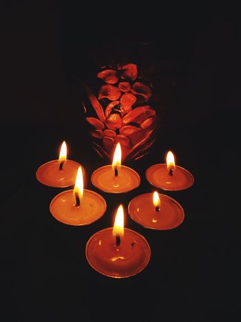Candle Flame Heat - Temperature Burning Celebration Tradition Red No People Religion Indoors  Spirituality Close-up Illuminated Diya - Oil Lamp Kali Offering To God Offering To The Gods Light And Shadow Light Up Your Life