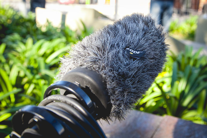 Boom Jack Focus On Foreground Rode Boom Rode Mic