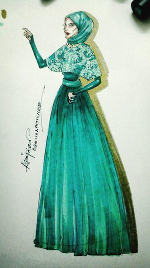 Design Fashion Dress Hijjab