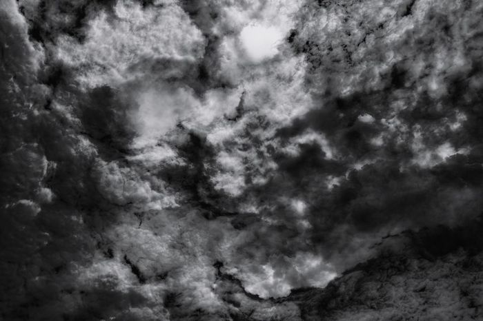 Abstract Clouds 7 on 15 Nov 17. Backgrounds Dramatic Sky Storm Nature No People Cloud - Sky Storm Cloud Sky Thunderstorm Beauty In Nature Outdoors Power In Nature Scenics Sun Dark Tone Patterns Clouds And Sky Penang, Malaysia Nawfal Johnson Cloudscape Textured  Black And White Pattern Tranquility