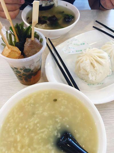 Breakfast Chinese Food Enjoying Life
