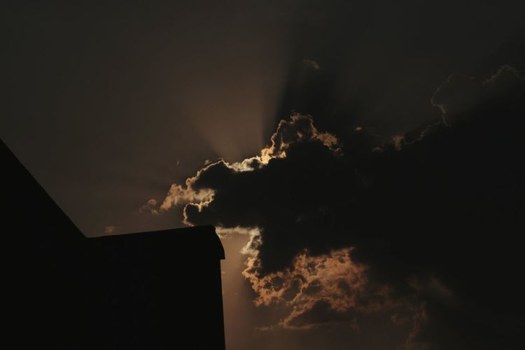 Night Sky No People Nature Outdoors Tree Architecture Beauty In Nature Illuminated Thunderstorm Clouds And Sky Cloud Porn Man Made Object House Taking Photos DSLR Photography Eyeem India EyeEm Travel Photography