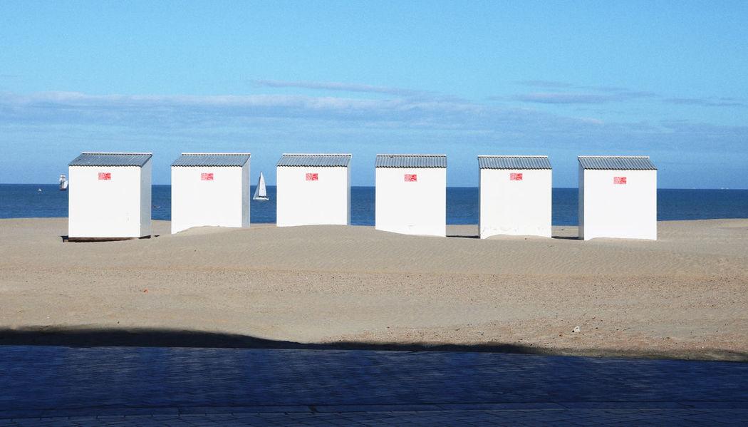 Beach Cabins Cabañas Cabin Cabins  Sea Sea And Sky Sea Cabine Sea View