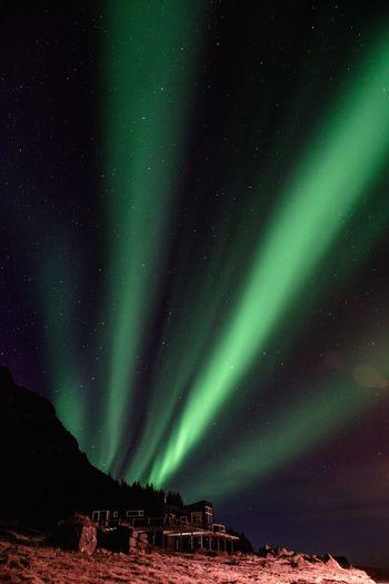aurora borealis #3 Night Sky Northern Lights Iceland Iceland_collection Aurora Borealis Green Color Astronomy Galaxy Star - Space Illuminated Water Cold Temperature Aurora Polaris Astrology Sign Sky Green Color Space And Astronomy Astrology