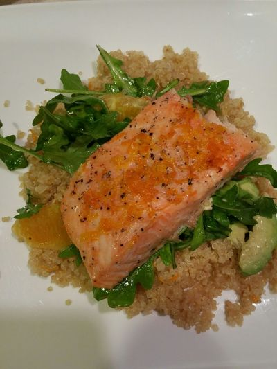 Food Porn Awards Salmon Avocado Quinoa