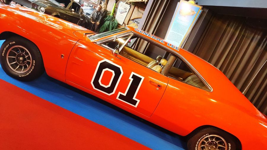 Generallee Red Car Close-up