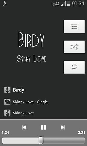Good Music Birdy Skinny Love  to sleep ♡