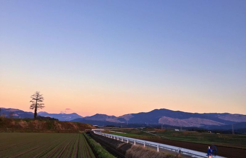 Sunset EyeEm Nature Lover From My Point Of View Sky Twilight Sky Twilight Twilight In Aso Kumamoto