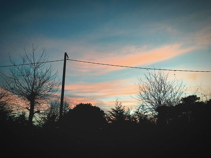 Sky Ciel Et Nuages Weather Sunset First Eyeem Photo