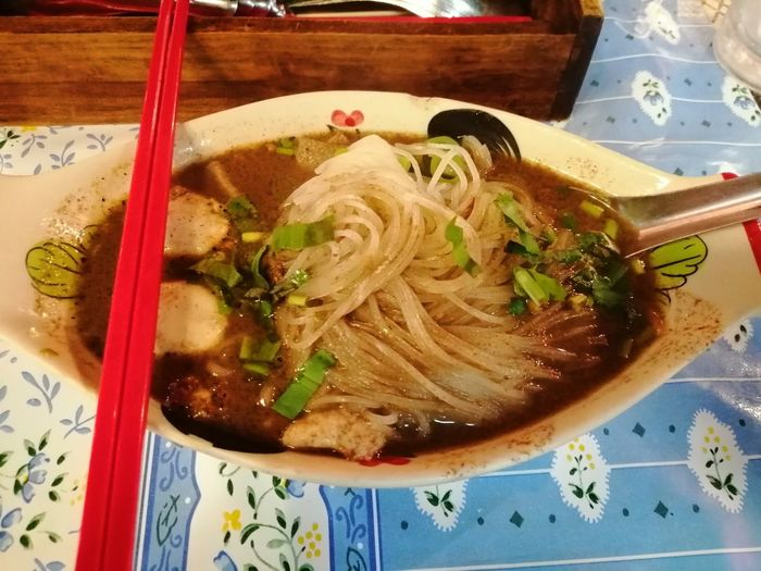 Thailand Thai Thai Food Style Asian Culture Traditional Culture Noodle Soup Appetizer Table Close-up Food And Drink Noodle Soup Noodles Chinese Food Japanese Food Served Soup Soup Bowl Ramen Noodles