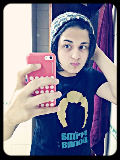:D cold Beanie Selfie Cold Days Persian
