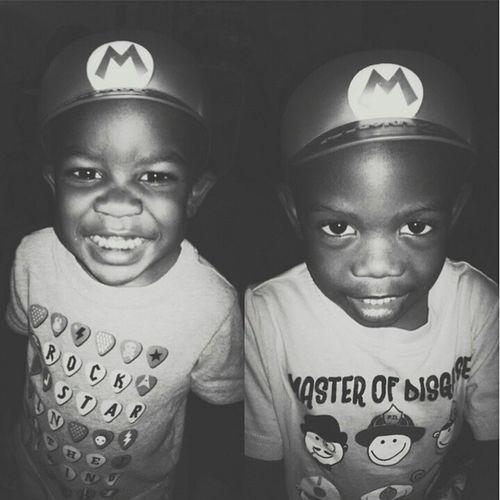 The Nephews Cam Jr. & Markus Latepost MarioBrothers Thefamilybig Couplehunedofus familyfirst