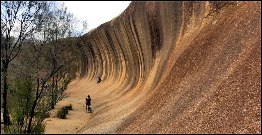Beauty In Nature Hyden Leisure Activity Long_drive Natural Architecture Natural Rock Formation Nature Ocean Wave. Scenics Tranquility Wave Rock Western Australia Nature's Diversities