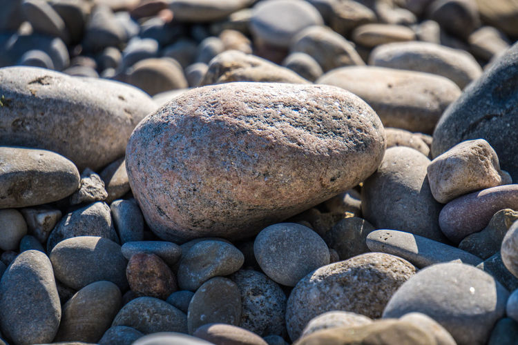 Beach Beachphotography Beauty In Nature Boulder Close-up Day Nature No People No People, Outdoor Outdoors Pebble Pebble Beach Pebbles Rock - Object Sea Shadow Shore Stone - Object Textured  Water Perspectives On Nature