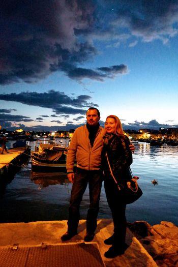 Malta City Two People Lifestyles Blue Sky Date Night - Romance