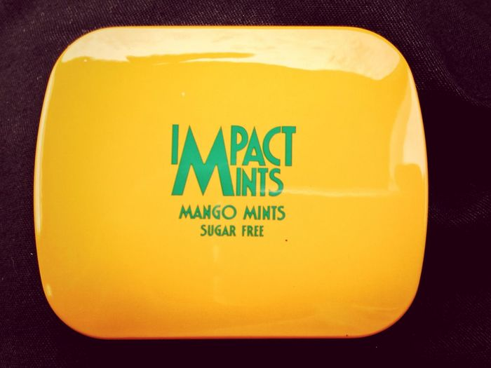Today's Hot Look Sugar Free Mango Mints