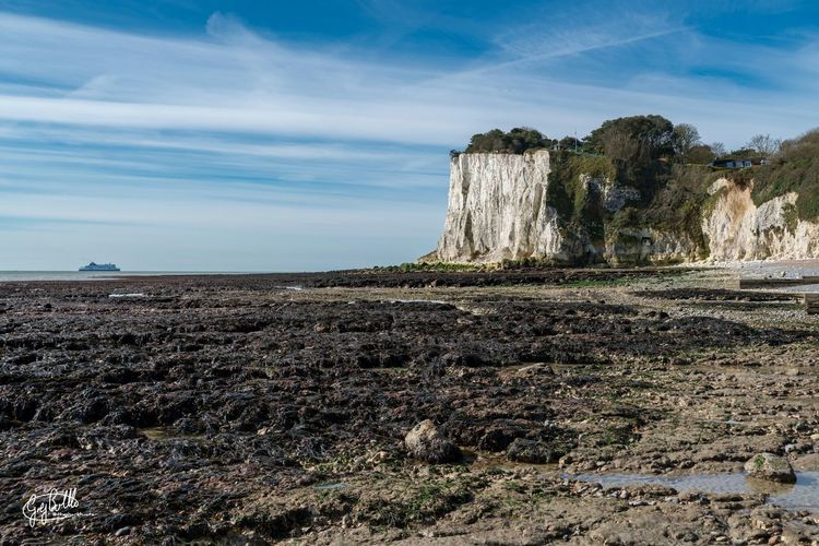 St. Margarets Bay at low tide. Dover Kent England Sony A7RII Sonyimages Sonyalpha Landscape_Collection Landscape Eye4photography  Cliffs Sony Images EyeEm Masterclass Sea_collection Seaside EyeEm Best Shots - Landscape EyeEmbestshots