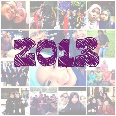 Thank you to everyone.. Thank you for the lessons and the memories.. May 2014 bring us a lot of sucess and barakah.. I appologise for every single mistake that i have done. Every little things that i might have done that hurt anyone.. Be good to every one not only for next year but for the years to come. Insyallah.. Happy new year people..