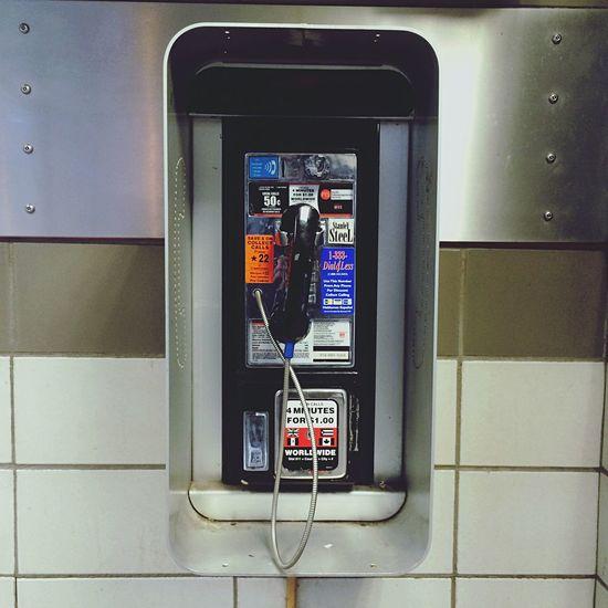 New York IPhone Traveling Payphone