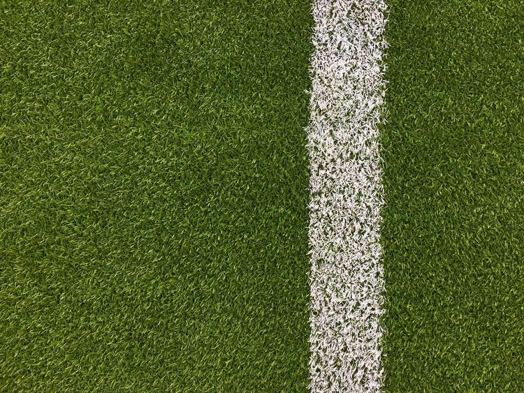 Football field Grass Sport Playing Field Turf Soccer Field Backgrounds Soccer Copy Space Full Frame High Angle View Green Color Team Sport Competitive Sport Grass Area Day No People American Football Field Directly Above Textured  American Football - Ball Football LINE Green