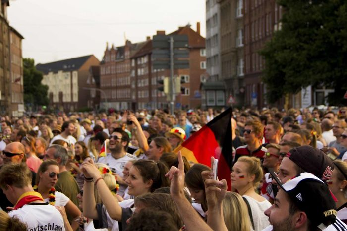 Celebration Cheering City Crowd EM Europameisterschaft Fanclub Fandom Fans Football Germany Public Viewing Soccer Sports Team UEFA World Cup