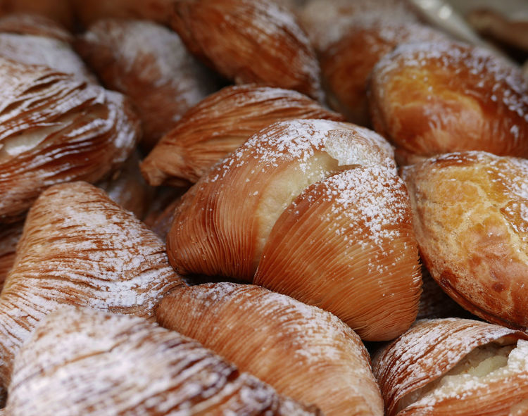 Napoli Backgrounds Baked Bakery Breakfast Close-up Croissant Food Food And Drink Ready-to-eat Sfogliatelle