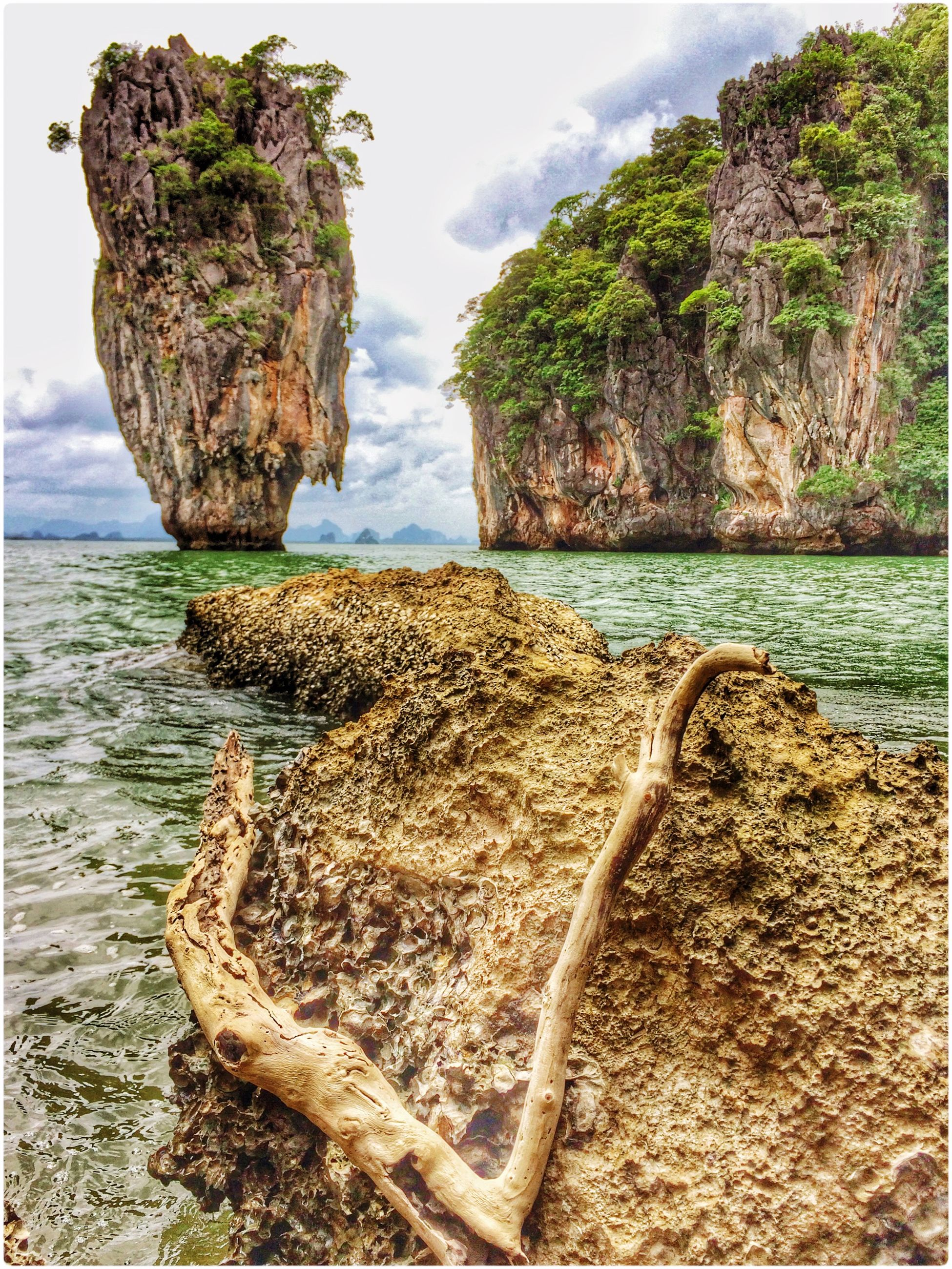 water, sea, sky, tranquility, rock - object, tranquil scene, rock formation, nature, scenics, beauty in nature, horizon over water, tree, rock, cliff, beach, day, shore, coastline, idyllic, outdoors