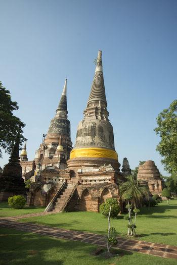 Exterior of wat yai chai mongkhon temple