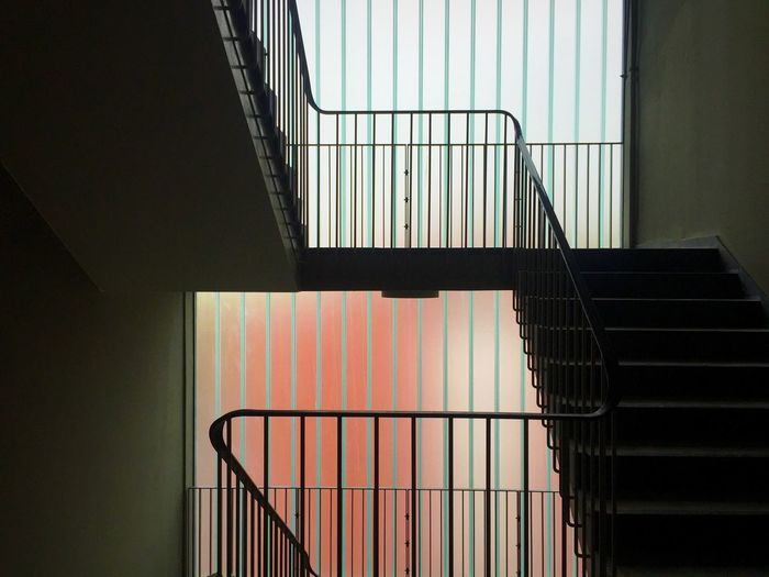 Modern minimal staircase