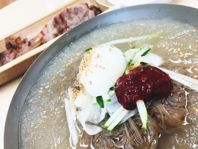 냉면 Naengmyeon Cold Noodles