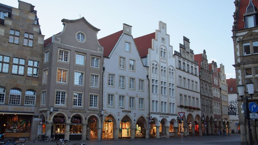 Shopping Shopping Street Nice Nice Atmosphere Beautiful Buildings Münster, Münsterland Deutschland City Center
