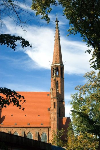 Kościół Architecture Built Structure Building Exterior Tower Sky Building Place Of Worship