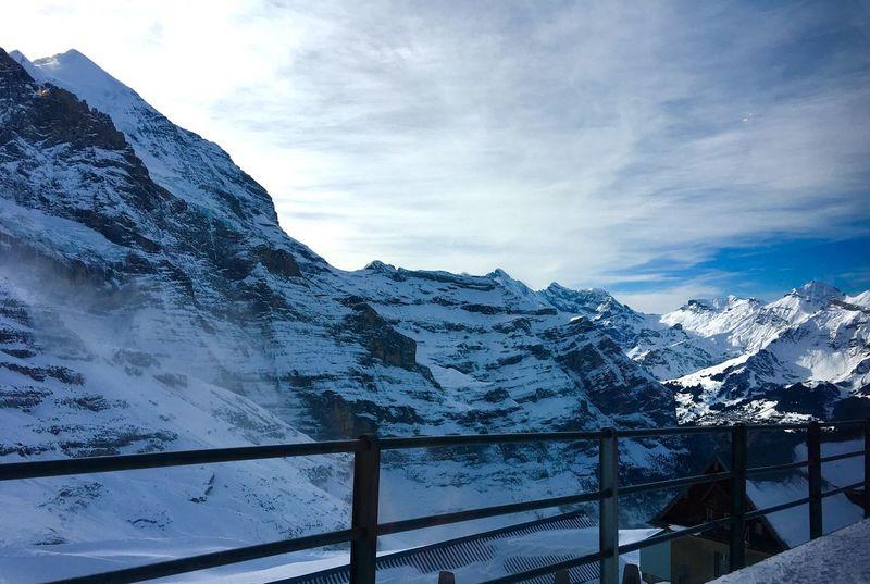 Wengen Switzerland 🇨🇭 Switzerland Jungfrau Traveling Photography Cloud And Sky Snow ❄