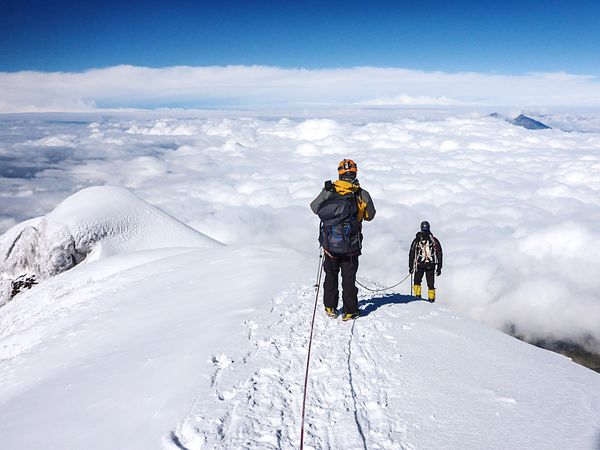 After a solid 20 minutes absorbing the view on the summit we began our descent. In a few hours we'll be below the clouds once again. Cotopaxi, Ecuador. Ecuador Cotopaxi Volcano Mountains Landscape Open Edit The Week On EyeEm Ecuador-pgw Growing Better The Traveler - 2015 EyeEm Awards The Great Outdoors - 2015 EyeEm Awards Go Higher