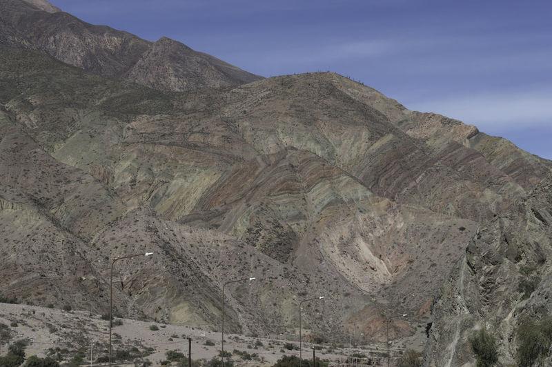 Beauty In Nature Cerro De Los 7 Colores Contrastes Naturales Day Geology Jujuy! Jujuy, Argentina Purmamarca