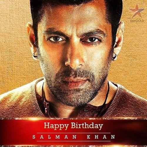 HappyBirthdaySalmanKhan @BeingSalmanKhan Beingsalmankhan