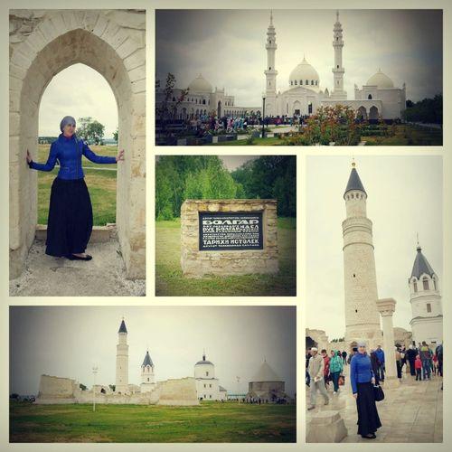 Болгары, Татарстан, Белая мечеть.14/06/2014 I Love Islam ISLAM♥ Tatarstan