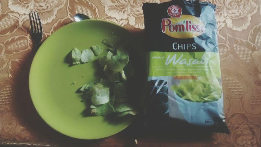 Huum Wasabi Food Wasabi In My Mouth