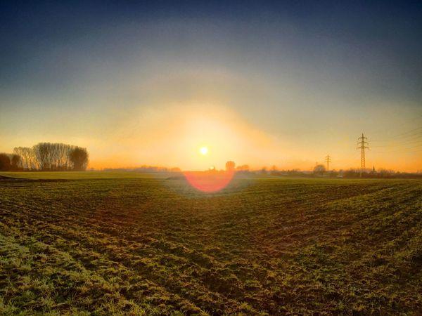Spaziergang im Ruhrgebiet. Sunset Sun Landschaft Photography Taking Photos Nature Ruhrpott