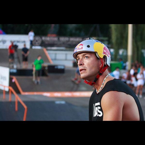 BMX pro Senad Grošić at Pannonian Challenge BMX Contest Pannonian Challenge Skatepark Bmx