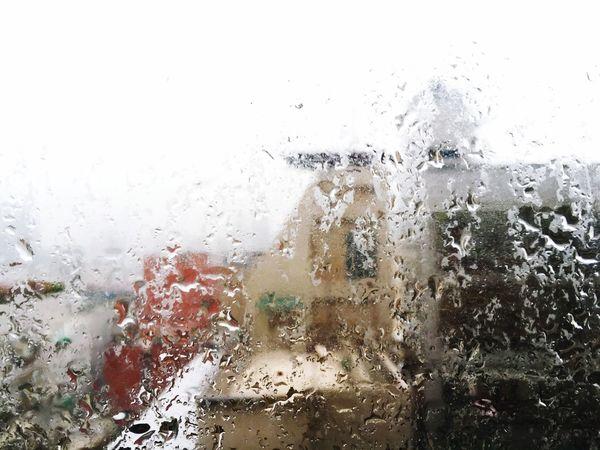 雨一直下 Life City 城市城事 Rain 雨 窗 水珠