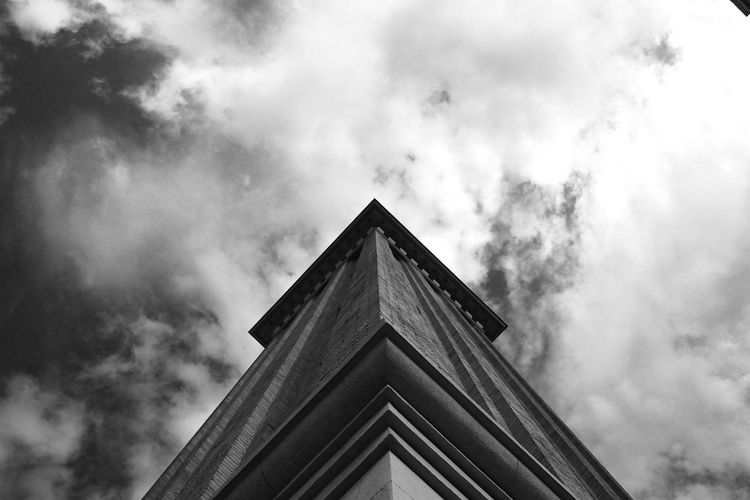 Architectural Feature Architecture Barcelona Barcelona, Spain Building Building Exterior Built Structure City Cloud Cloud - Sky Cloudy High Section Low Angle View Modern Nature No People Outdoors Overcast Plaça Espanya Sky Tall - High Weather Feel The Journey Monochrome Photography The Graphic City